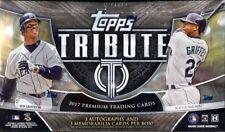 2017 Topps Tribute Baseball Hobby 6 Pack Box (Factory Sealed)