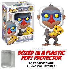 Funko POP! Disney ~ RAFIKI (HOLDING BABY SIMBA) VINYL FIGURE w/Protective Case
