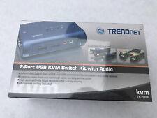 TRENDNET - BUSINESS CLASS TK-209K 2PORT USB KVM SWITCH KIT WITH