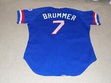 Glenn Brummer Game Worn Jersey 1985 Texas Rangers