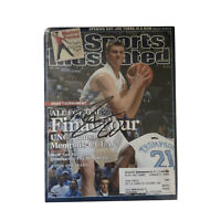 TYLER HANSBROUGH Signed Final Four SPORTS ILLUSTRATED Magazine UNC Basketball
