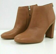 Sam Edelman Ankle Booties Womens US 9 Brown Camel Caramel Tan Cognac Leather