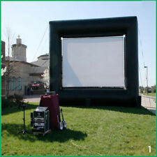 Giant Inflatable Movie Screen Outdoor Cinema Projector Theatre Backyard Ho UKLQ
