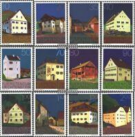 Liechtenstein 694-705 (kompl.Ausg.) postfrisch 1978 Bauten