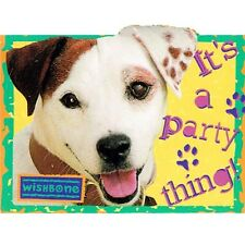 WISHBONE INVITATIONS (8) ~ Birthday Party Supplies Vintage 1996 Stationery Paper