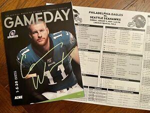 PHILADELPHIA EAGLES Gameday Magazine + 1.5.20 Vs Seattle Seahawks - Free Ship