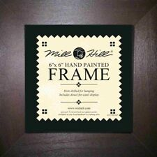 MILL HILL FRAME 6 x 6 in Fits Mill Hill Button&Bead Cross Stitch Kits BROWN