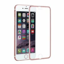 iPhone7 6s Plus 3D Curved Metal Frame Full Cover Tempered Glass Screen Protector