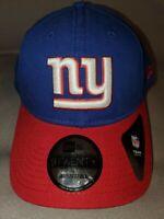 NFL NEW YORK GIANTS NEW ERA 9 TWENTY BLUE RED CORE CLASSIC STRAPBACK HAT NEW