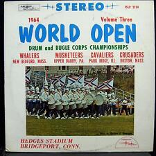 Drum & Bugle Championships - 1964 World Open Vol. 3 LP Mint- FSLP 2134 Vinyl