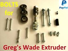 All extrusora bolts greg wade extrusora Reloaded hobbed presión RepRap 3d Printer -