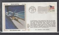 USA klasse Beleg 1979 Space Shuttle Test Engines Fired