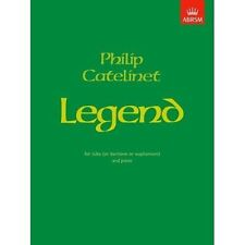 Philip Catelinet Legend for Tuba or Euphonium and Piano ABRSM Sheet Music