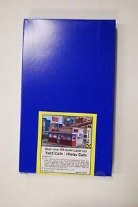 HO Blair Line #2006 * Yard Cafe / Hiway Cafe * Wood Laser Cut Kit * NIB