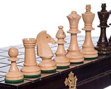 SALE Schach edles Turnierschach Schachspiel aus Holz Schachbrett Handarbeit40x40