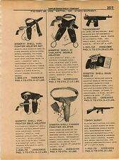1961 ADVERT Mattel Toy Tommy Burst Machine Gun Snub Nose Thunderburp Shootin