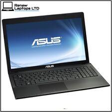 "ASUS X55A 15.6"" Laptop, Celeron B830 1.8Ghz, 4Gb RAM, 500Gb HDD, Windows 10"