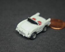 Micro Machines Corvette Chevy 1955 White Convertible Chevrolet Car Galoob LGTI