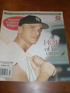 October 2008 Sports Collector's Digest - Roger Maris New York Yankees Slugger