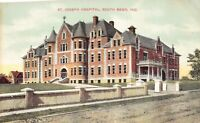 Postcard St. Joseph Hospital in South Bend, Indiana~125344