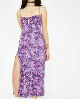 MOTEL ROCKS Cypress Dress in Daisy Daze Purple  Small S    (MR38)