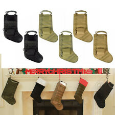 6X Molle Christmas Gift Stocking Sock Decoration Storage Bag Tactical Pouch Bag