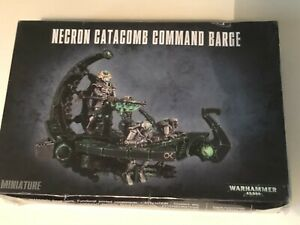 NECRON CATACOMB COMMAND BARAGE WARHAMMER 40 000 unopened unpainted in seal new