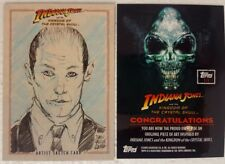 INDIANA JONES Kingdom of Crystal Skull SKETCH CARD  1 / 1 topps