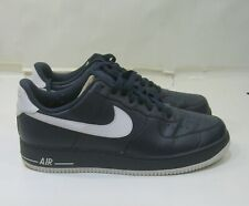 488298-402 Nike Air Force 1 Low Obsidian/Wolf Grey-White MEN Size 12