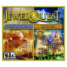 Jewel Quest 4 Heritage Jewel Quest Mysteries 2 Trail of the Midnight Heart  NEW