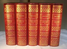 MOLIERE / THEATRE COMPLET 5 vol. ILLUSTRATIONS Robert BELTZ CLUB DU LIVRE LEBAUD