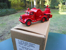 VEHICULE MILITAIRE SMITH AUTO MODELS REF FB4 AUSTIN K6 RAF FIRE SERVICE  MIB