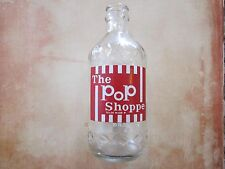 RARE VINTAGE ERROR THE POP SHOPPE GLASS SODA BOTTLE 10 OZ DENVER COLORADO