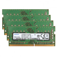 For Samsung 4pc 8GB 1Rx8 PC4-2400T DDR4-2400MHz 260Pin Laptop Memory SO-DIMM @MY