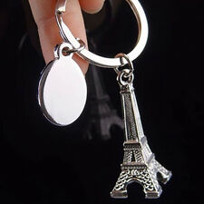 Mini Paris Eiffel Tower Model Pendant Keychain Keyring Keyfob Key Chain Trendy