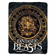 Fantastic Beast & Where to Find Them Super Extra Soft PLUSH Blanket 46'' x 60''
