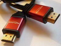HDMI Kabel mit Ethernet 2m High Speed Delock 82749 4K vergoldete Kontakte TrueHD