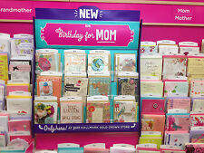 HALLMARK BIRTHDAY CARDS  FAMILY ASSORTMENT 12 CARD PAC FOR ALL FAMILY MEMBERS
