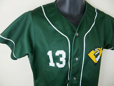 Wilson Oregon Ducks Baseball Jersey Shirt Top Green Youth Boys Kids Large L YL