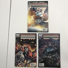 Transformers: Ironhide #2, 3, 4 (3 Comics) IDW Comics Mike Costa Casey Coller