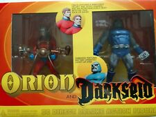 DC Direct Deluxe Action Figure Set ORION AND DARKSEID NIB HTF