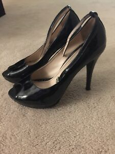 Gastone Lucioli Patent Peep Toe Size 38 1/2