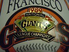 SAN FRANCISCO GIANTS - 1989 N.L. Champions Pin by Chevron - NIP