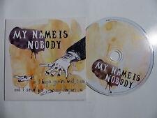 CD Promo 11 titres MY NAME IS NOBODY FRVSENS14
