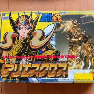 Aries Mu Gold Cloth Taikei Bandai Saint Seiya Vintage Japan VGOOD S