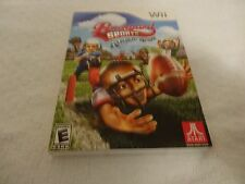 Backyard Sports Football: Rookie Rush Video Game - Nintendo Wii New Sealed