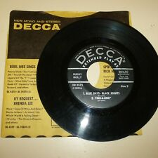 ROCKABILLY 45 RPM EP RECORD ONLY- BUDDY HOLLY - DECCA ED 2575