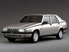 ADESIVO STICKER Alfa Romeo 75 Quadrifoglio Verde 6V iniezione