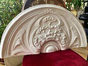 Stucco -  Jugendstil Bekrönung Supraporte  86 cm aus Stuck 160-F84