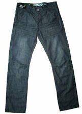 Mens jeans ENZO EZ54 Regular Fit Darkwash Jeans NEW & IN STOCK